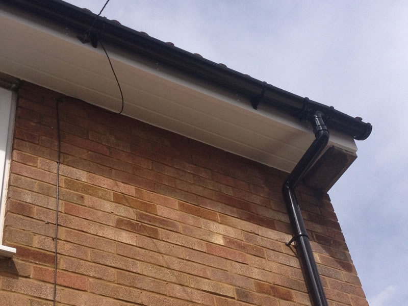 Check out our Fascias, Soffits and Guttering (FSG) work