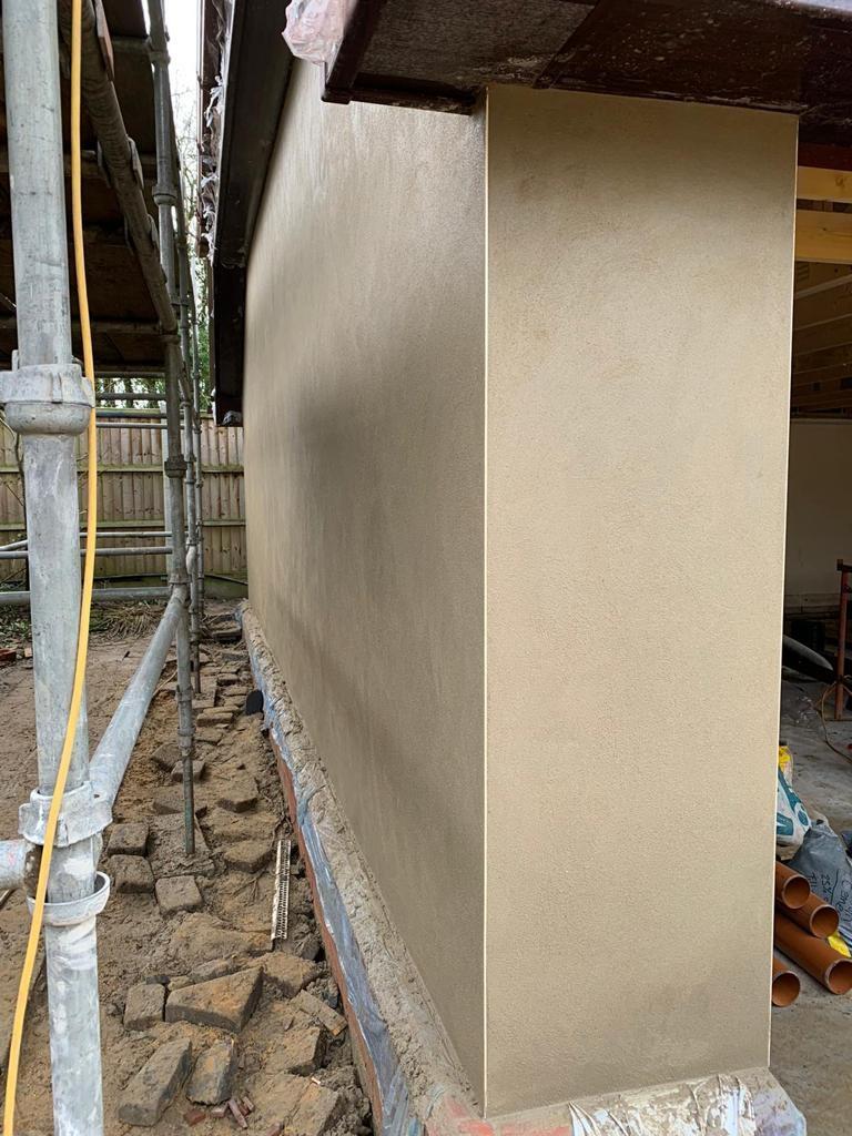 Cement Rendering